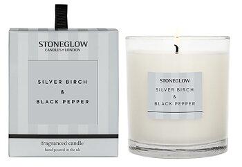 Stoneglow Modern Classics  Silver Birch & Black Pepper Ljus