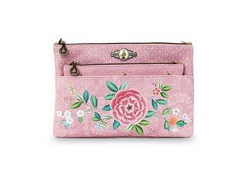 Pip Studio Necessär Combi Floral Rosa