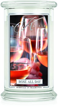 Kringle Candle Rosé All Day 2-Vekar Large Jar