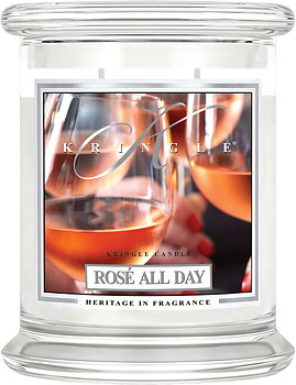 Kringle Candle Rosé All Day 2-Vekar Medium Jar
