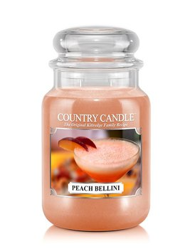 Country Candle Peach Bellini  Large Jar