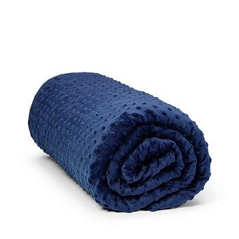 Tyngdtäcke Zenwell®  2,25kg med blått överdrag 90cm x 120cm