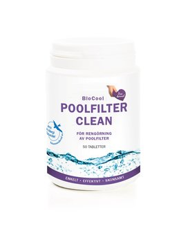 Biocool Poolfilter Clean, 50 tabl