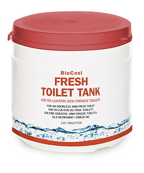 Fresh Toilet Tank, 125 tabl