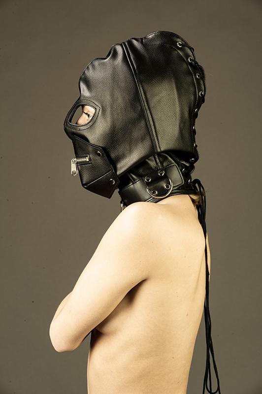 Vegan- / PU-läder-Masker