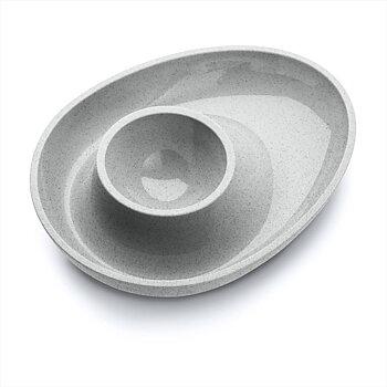 COLUMBUS Äggkopp Organic grey