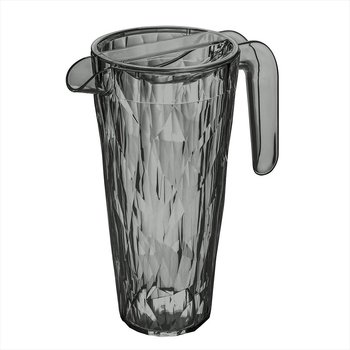 CLUB Superglas Karaff 1,5l Transparent grey