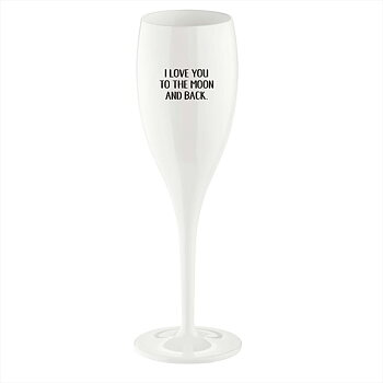 Love You To The Moon, Champagneglas