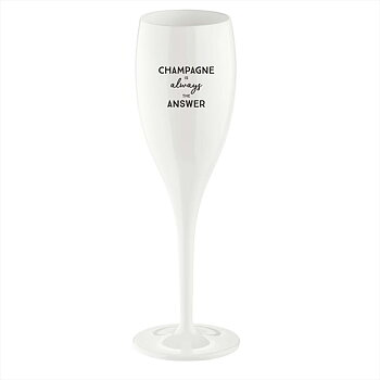 Champagne Is The Answer, Champagneglas