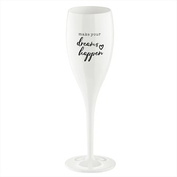 CHEERS Make dreams happen, Champagneglas med print 6-pack 100ml