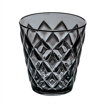 CRYSTAL S, Tumblerglas, Transparent Grå 8-pack