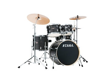 TAMA, IE50H6W-BOW, Tama Imperial 5-del m/cymb. Black Oak Wrap