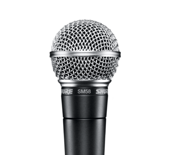 Mikrofonpaket Sångkit Shure SM58+Kabel
