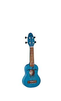 ORTEGA K1-BL Keiki Sopranino ukulele, Ocean Blue