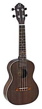 ORTEGA RUCOAL Concert ukulele Earth, See Thru Black