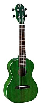 ORTEGA RUFOREST Concert ukulele Earth, See Thru Green