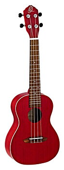ORTEGA RUFIRE Concert ukulele Earth, See Thru Red
