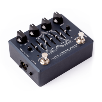 Darkglass Alpha Omega Ultra Preamp/distortion-pedal för elbas