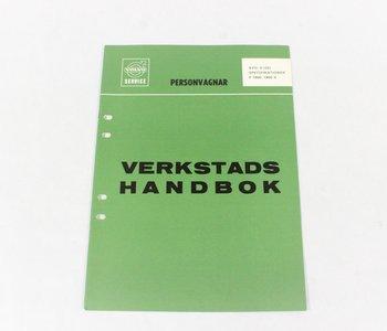 Verkstadshandbok, Specifikationer P1800/S