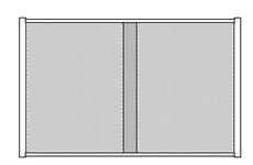 2 DISPLAY PANEL 120x75-BLACK