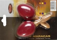 2Pc Egg Maracas S/1 3/4Oz/Red