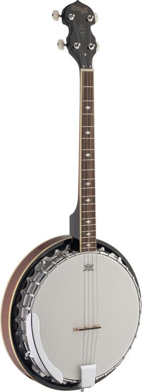 4-Str Banjo-30 Hooks-Metal Pot