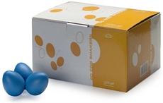 50Pcs Egg Shaker,Blue,Mat
