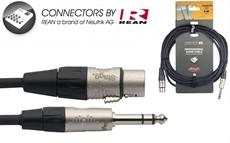 6M/20Ft Audio Ster.Plg-Xlrf Dl