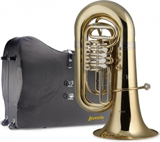 Bb Tuba,4Rot.Valv+Case