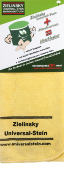 Mikrofiberduk Premiumkvalitet - Gul