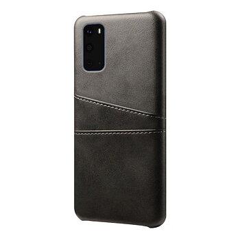 Samsung Galaxy S20 Ultra Skal med Kortfack - Svart