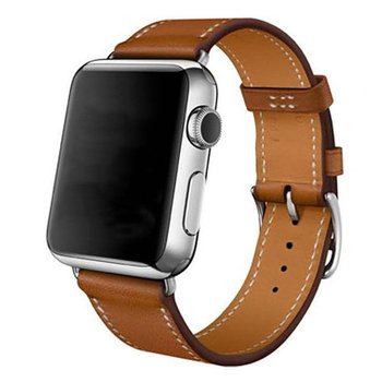 Apple Watch Armband Single Tour 42/44 mm - Brun