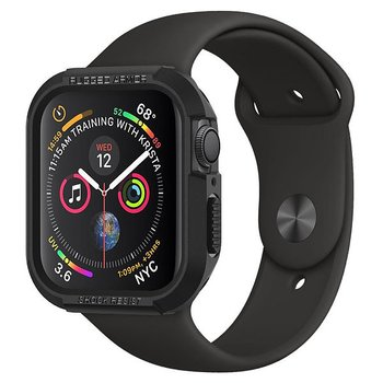 Spigen Rugged Armor till Apple Watch 44mm - Svart