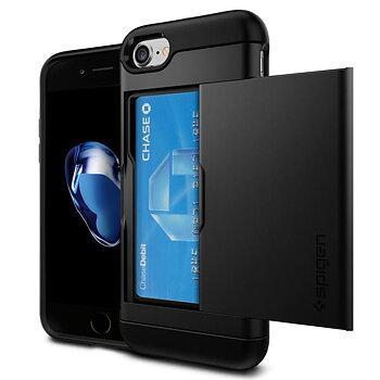 Spigen Slim Armor CS till iPhone 8/7 - Svart