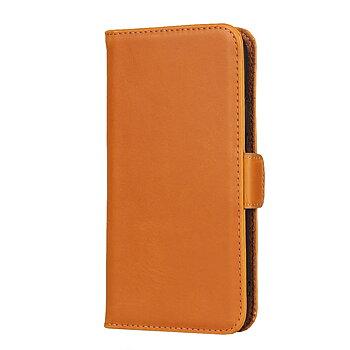 iPhone XS/X Plånboksfodral av Äkta Läder - Brun