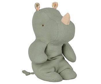 medium hippo, blue/grey