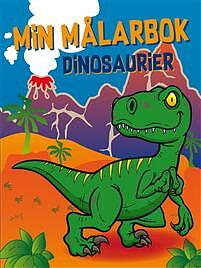 Min målarbok Dinosaurier