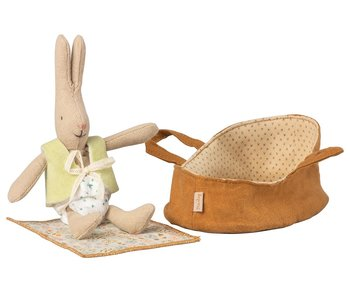 Micro Bunny in carry cot