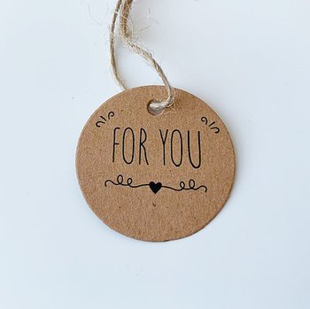 5-pack Hangtags for you 30mm
