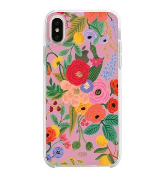 Clear Blush Garden Party iPhone Case