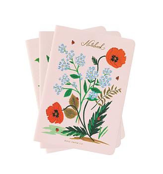 Botanical Stitched Notebooks