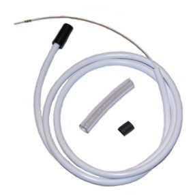 Luftslang C5 (svart/vit)