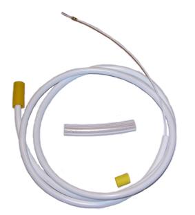 Luftslang C2 (gul/vit)