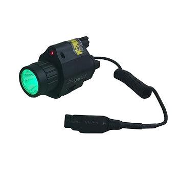 Sun Optics/Albecom Lampa Grön LED 250L/Laser röd