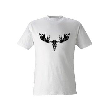 Angry Moose T-Shirt Vit