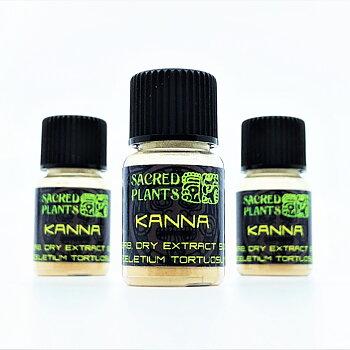 Kanna (Sceletium tortuosum) - dry extract 50:1