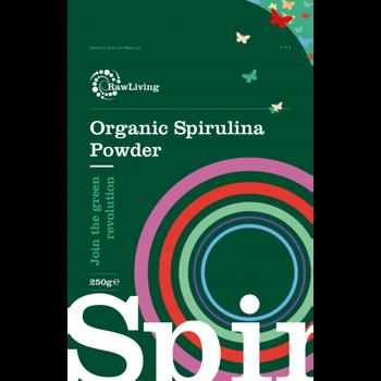 Spirulina Powder (Arthrospira platensis) - Organic 100g