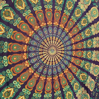 Peacock Tapestry