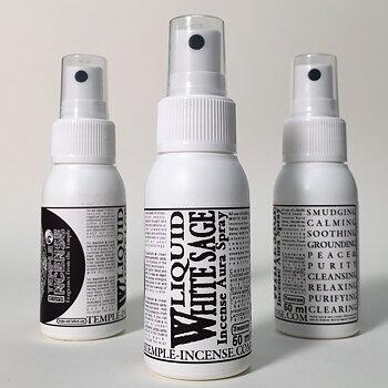 Liquid White Sage  - Incense Aura Spray