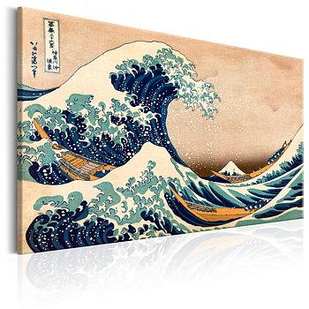 Tavla - Canvastavla - The Great Wave off Kanagawa (Reproduction)